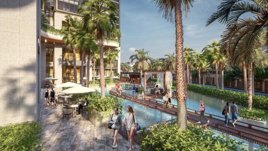 Sunshine Group triển khai tổ hợp resort trên ốc đảo, giữa hồ nhân tạo lớn bậc nhất Sài Gòn - Ảnh 3.