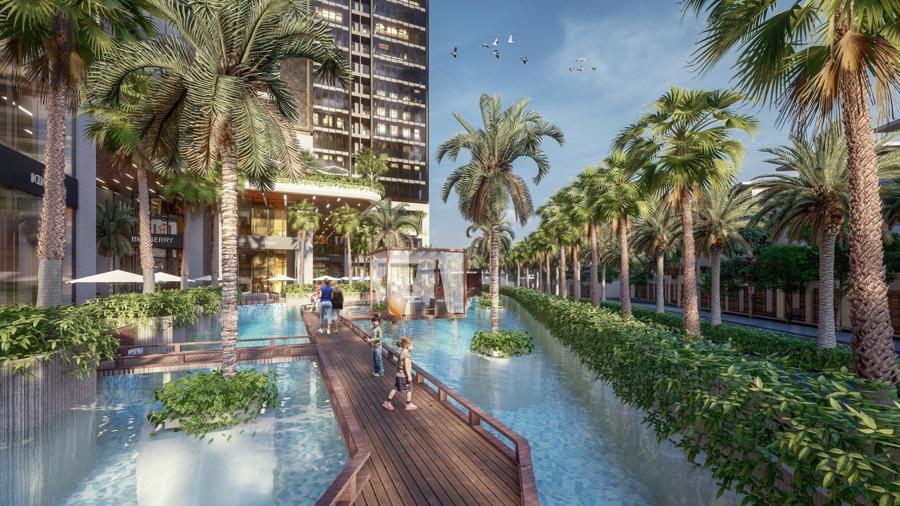 Sunshine Group triển khai tổ hợp resort trên ốc đảo, giữa hồ nhân tạo lớn bậc nhất Sài Gòn - Ảnh 4.