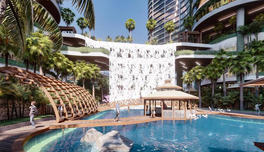 Dự án căn hộ resort tại Quận 7 đào sông trong lòng dự án, phát triển 4.000 vườn nhiệt đới trên không - Ảnh 3.