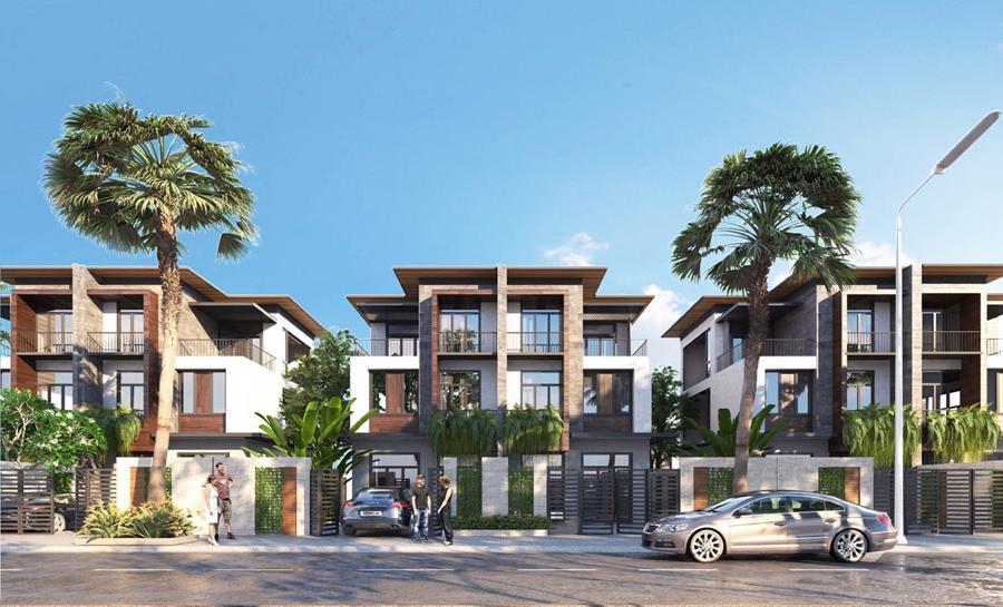 Cận cảnh công trường thi công dự án biệt thự biển giá 4 tỷ tại Phan Thiết - Ảnh 5.