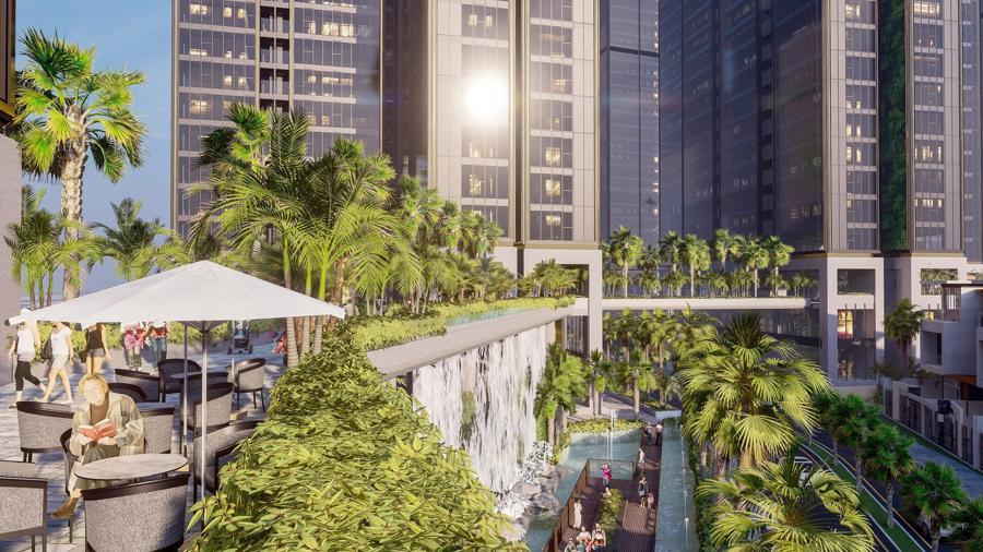 Sunshine Group triển khai tổ hợp resort trên ốc đảo, giữa hồ nhân tạo lớn bậc nhất Sài Gòn - Ảnh 6.