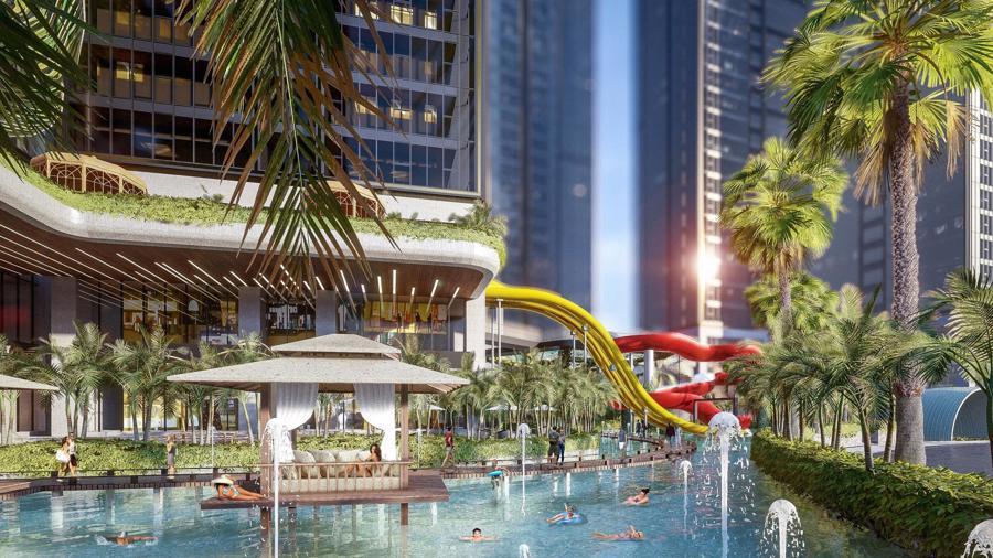 Sunshine Group triển khai tổ hợp resort trên ốc đảo, giữa hồ nhân tạo lớn bậc nhất Sài Gòn - Ảnh 7.