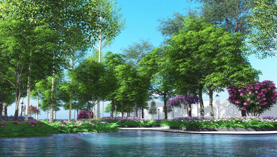 Bến Cát – Bình Dương sắp có trung tâm thương mại, đại học quốc tế lớn bậc nhất Việt Nam - Ảnh 8.