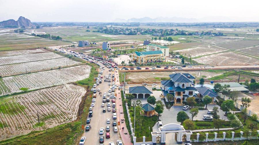 Thanh Hóa: Khu dân cư Đông Tân thu hút thị trường bất động sản cuối năm - Ảnh 1.