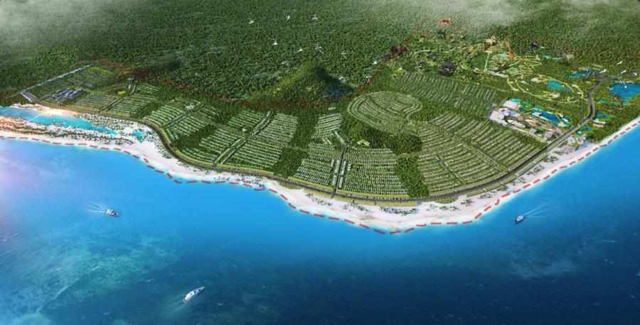 Dự án Safari Hồ Tràm của Novaland được tỉnh Bà Rịa - Vũng Tàu ủng hộ - Ảnh 1.