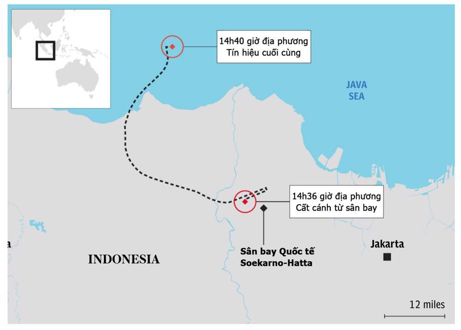 Hiện trường máy bay rơi làm 62 người chết ở Indonesia - Ảnh 7.