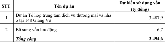 VEF tăng vốn khủng để làm loạt dự án gồm 148 Giảng Võ - Ảnh 2.