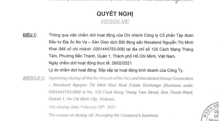 Vì đâu Novaland phải xoá sổ sàn môi giới Nguyễn Thị Minh Khai? - Ảnh 1.
