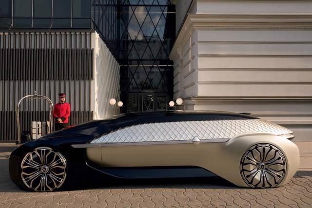 Thiết kế ôtô điện tự lái như phòng khách của Renault - Ảnh 2.