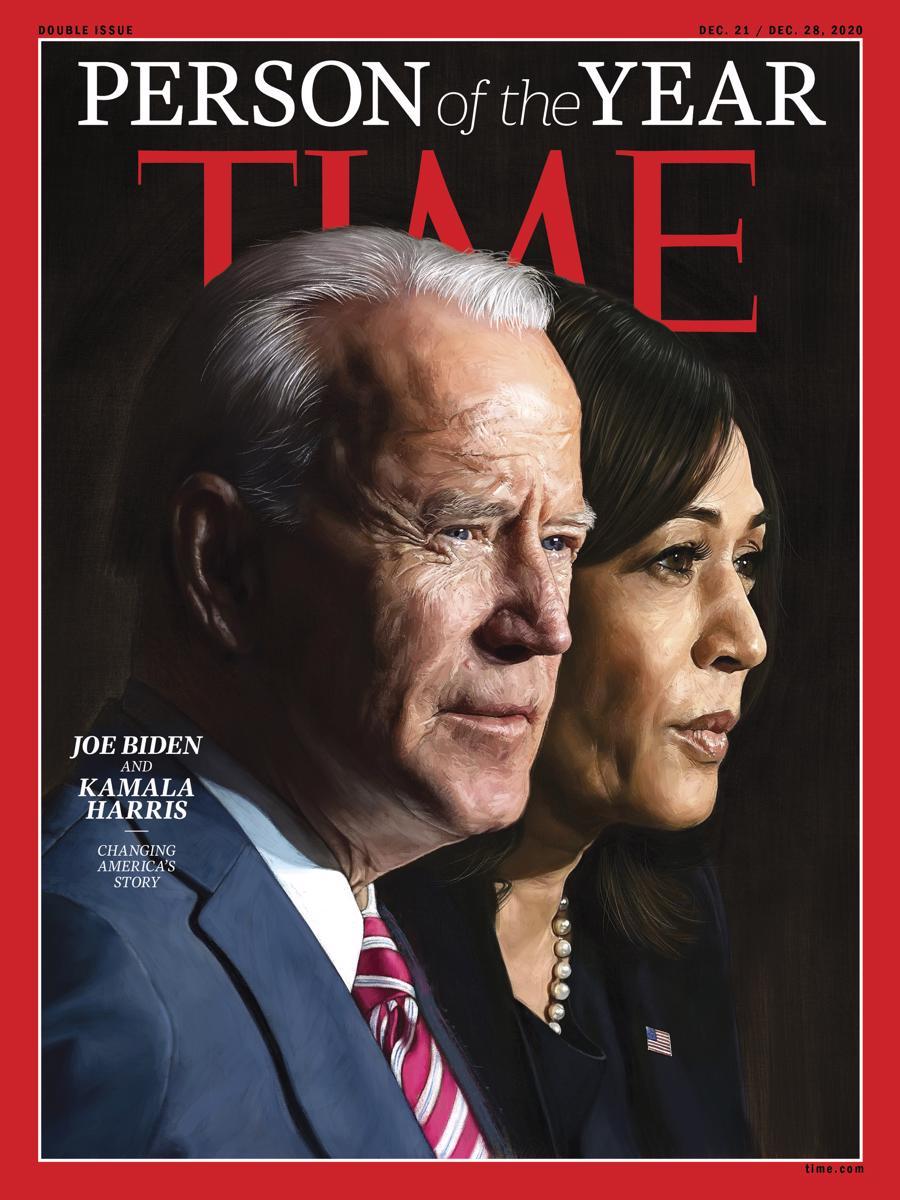 Ông Joe Biden và bà Kamala Harris được Time bình chọn là nhân vật của năm 2020 - Ảnh 1.