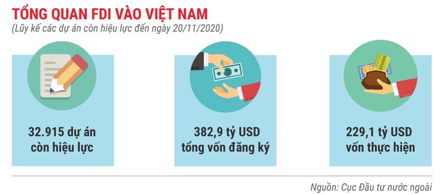 Những điểm nhấn về thu hút FDI trong 11 tháng năm 2020 - Ảnh 7.