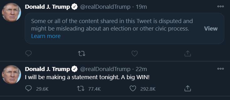 """[Trực tiếp] Dẫn trước số phiếu đại cử tri, ông Biden tự tin: """"Tôi lạc quan về kết quả"""" - Ảnh 2."""