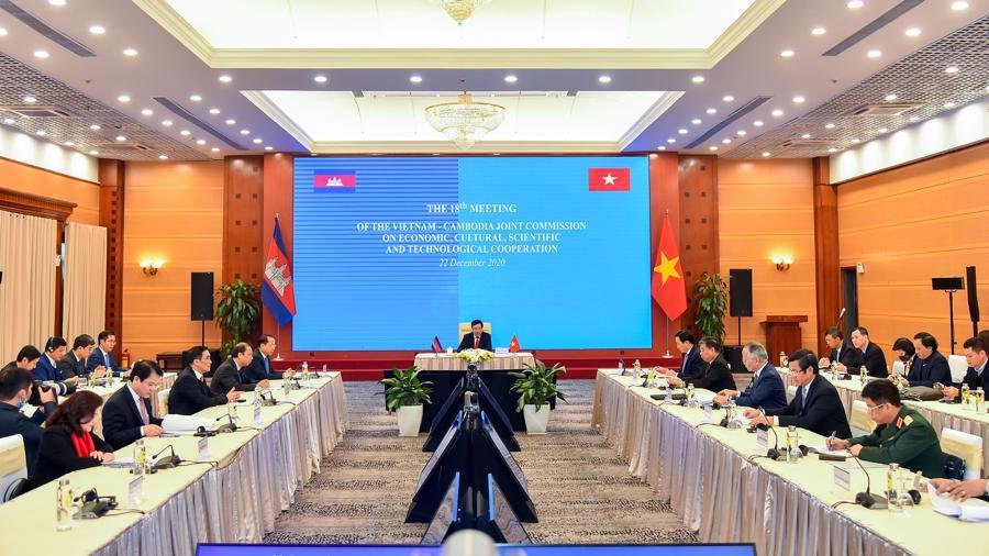 Thương mại hai chiều Việt Nam - Campuchia có thể đạt 5 tỷ USD trong năm 2020 - Ảnh 2.