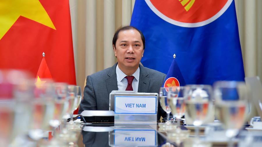 Hội nghị Quan chức cấp cao ASEAN: Tiếp tục thúc đẩy chủ nghĩa đa phương - Ảnh 1.