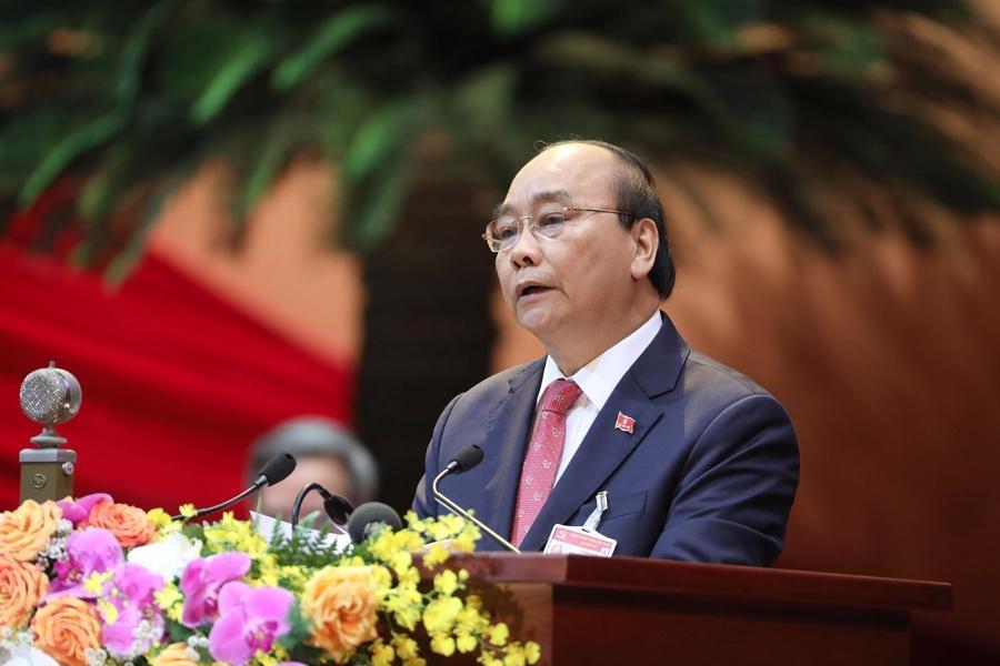 [Ảnh] Lễ khai mạc Đại hội đại biểu toàn quốc lần thứ XIII của Đảng - Ảnh 4.