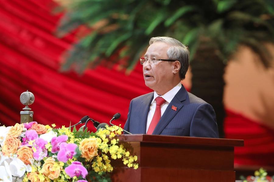 [Ảnh] Lễ khai mạc Đại hội đại biểu toàn quốc lần thứ XIII của Đảng - Ảnh 3.