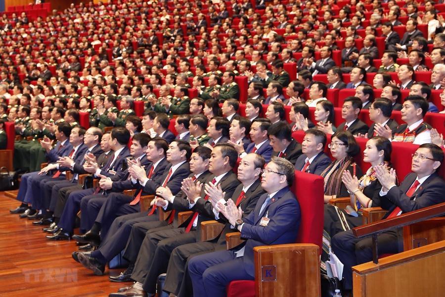 [Ảnh] Lễ khai mạc Đại hội đại biểu toàn quốc lần thứ XIII của Đảng - Ảnh 14.