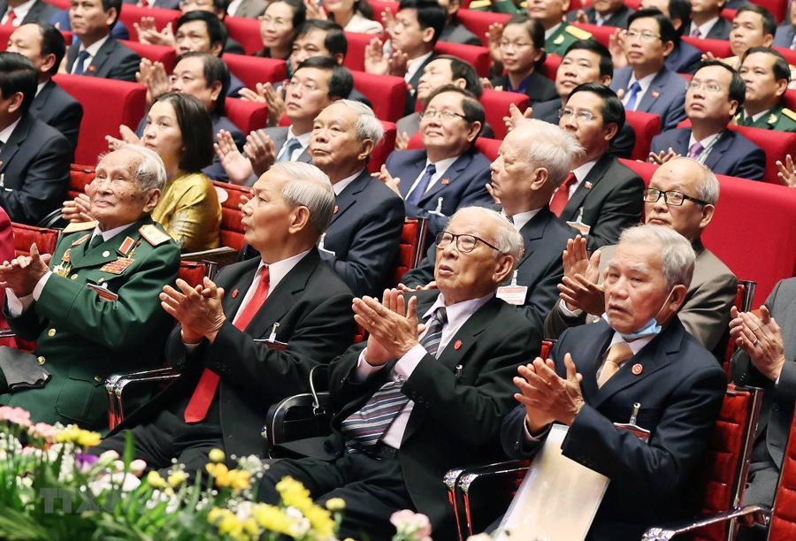 [Ảnh] Lễ khai mạc Đại hội đại biểu toàn quốc lần thứ XIII của Đảng - Ảnh 9.