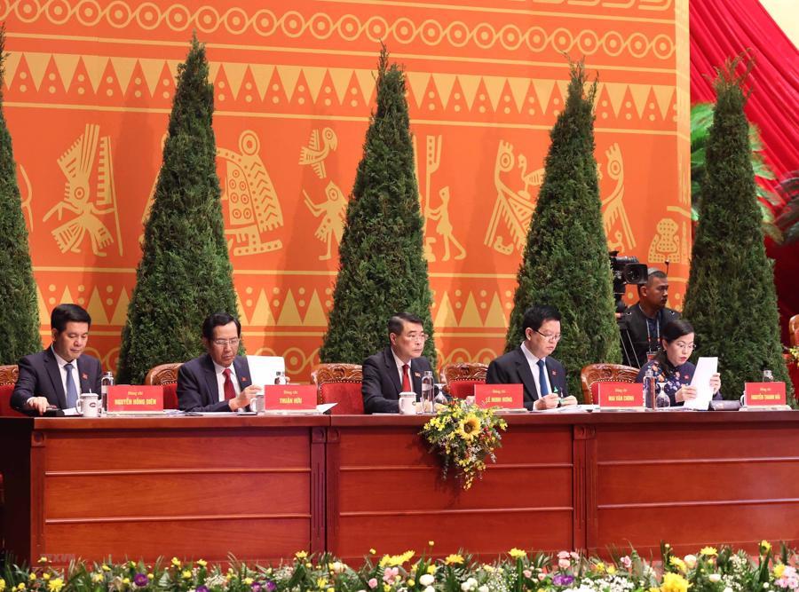 [Ảnh] Lễ khai mạc Đại hội đại biểu toàn quốc lần thứ XIII của Đảng - Ảnh 8.