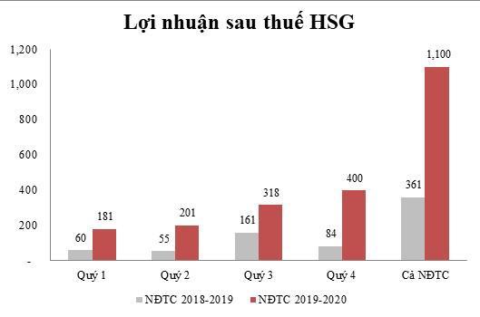 Dù đại dịch Covid-19, HSG vẫn trở lại câu lạc bộ doanh nghiệp lợi nhuận nghìn tỷ - Ảnh 1.