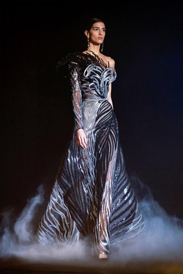 BST Haute Couture Xuân Hè của Elie Saab: nhà hát của giấc mơ - Ảnh 1.