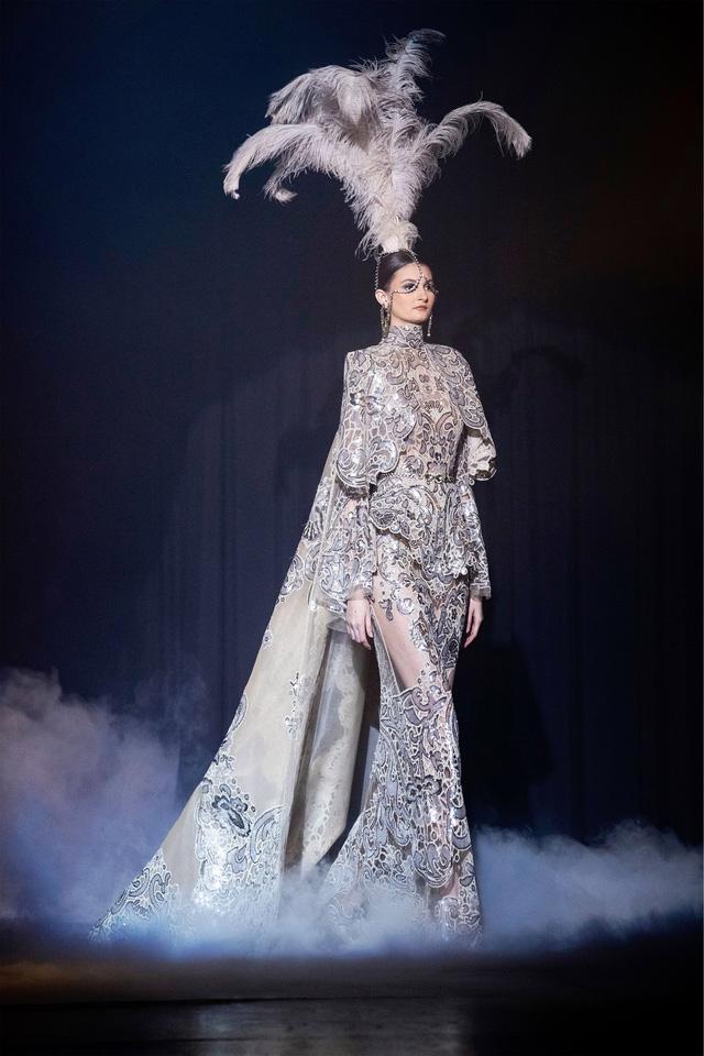BST Haute Couture Xuân Hè của Elie Saab: nhà hát của giấc mơ - Ảnh 9.