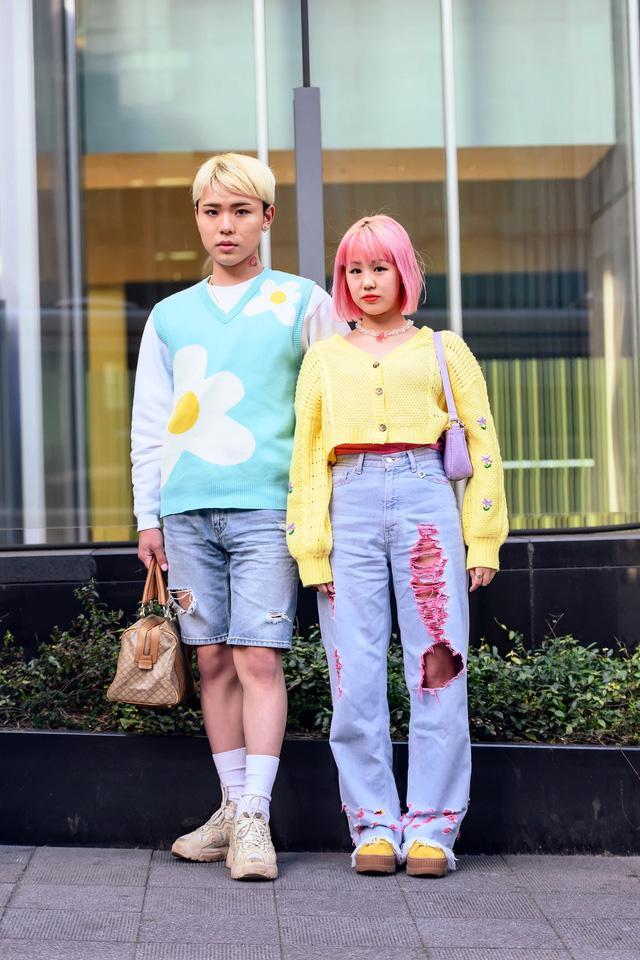 Thời trang đường phố của Tokyo Fashion Week 2021: tinh thần unisex đương đại - Ảnh 14.
