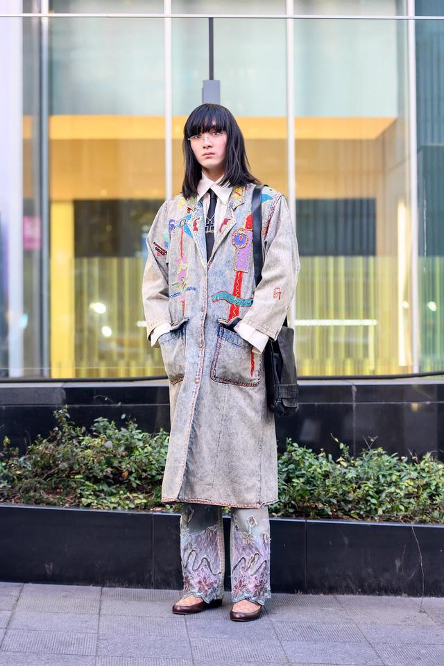 Thời trang đường phố của Tokyo Fashion Week 2021: tinh thần unisex đương đại - Ảnh 13.
