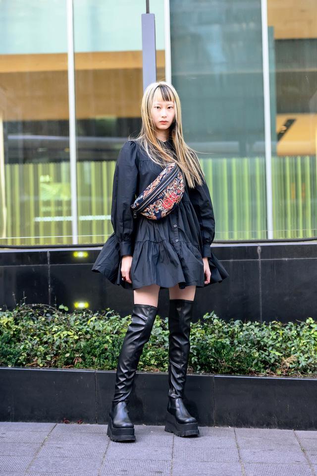 Thời trang đường phố của Tokyo Fashion Week 2021: tinh thần unisex đương đại - Ảnh 12.