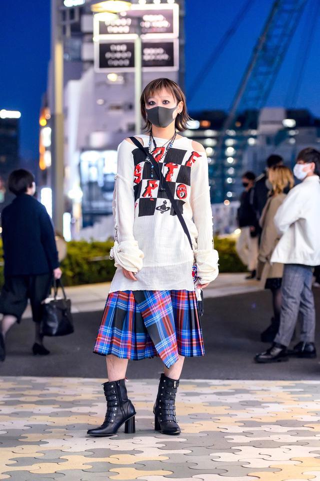 Thời trang đường phố của Tokyo Fashion Week 2021: tinh thần unisex đương đại - Ảnh 1.
