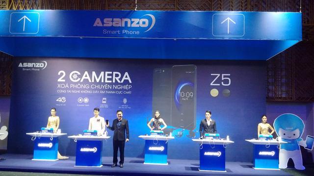 Asanzo trình làng bộ đôi smartphone đầu tiên - Ảnh 2.