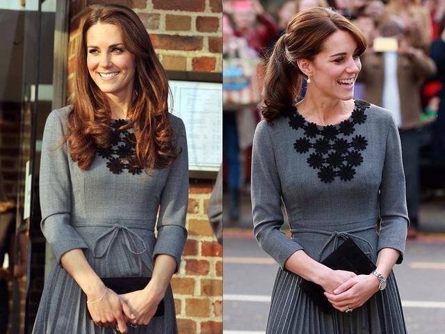 Những trang phục được Kate Middleton mặc lại nhiều lần - Ảnh 9.