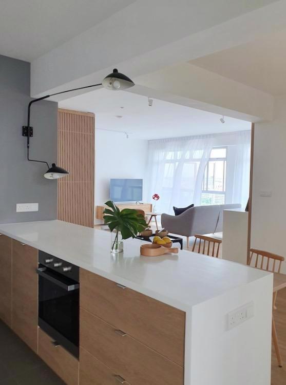 Đồ nội thất gỗ nhẹ trong căn hộ chung cư - Ảnh 3.