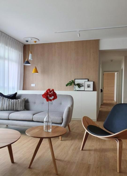 Đồ nội thất gỗ nhẹ trong căn hộ chung cư - Ảnh 1.