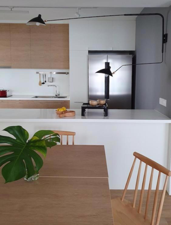 Đồ nội thất gỗ nhẹ trong căn hộ chung cư - Ảnh 2.