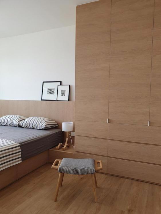 Đồ nội thất gỗ nhẹ trong căn hộ chung cư - Ảnh 5.