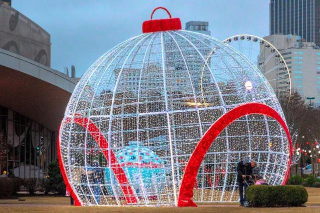 Nước Mỹ: ngắm Giáng sinh muôn màu muôn vẻ - Ảnh 10.