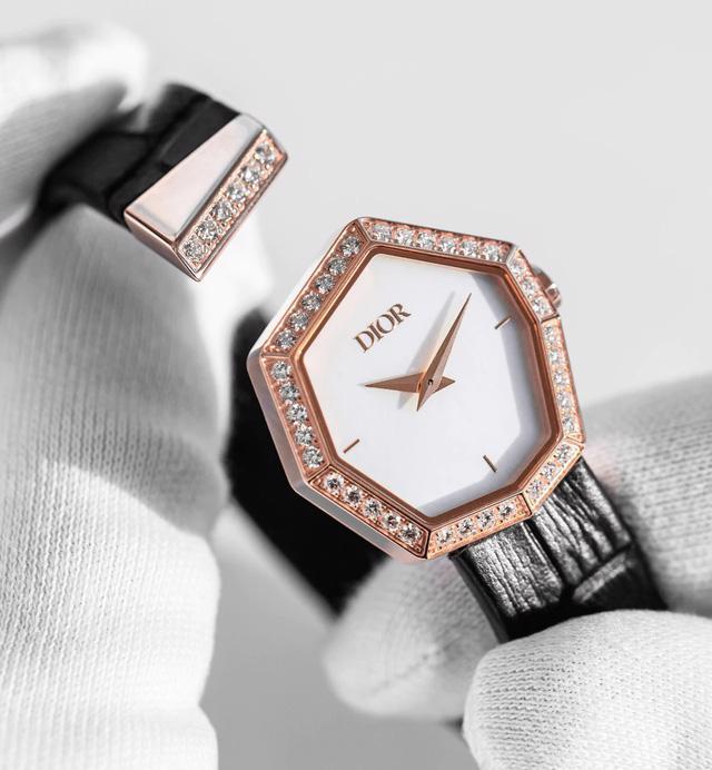 BST Gem Dior: đá quý, hình học và bất quy tắc - Ảnh 3.