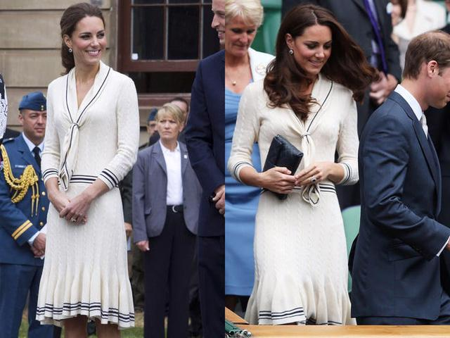 Những trang phục được Kate Middleton mặc lại nhiều lần - Ảnh 11.