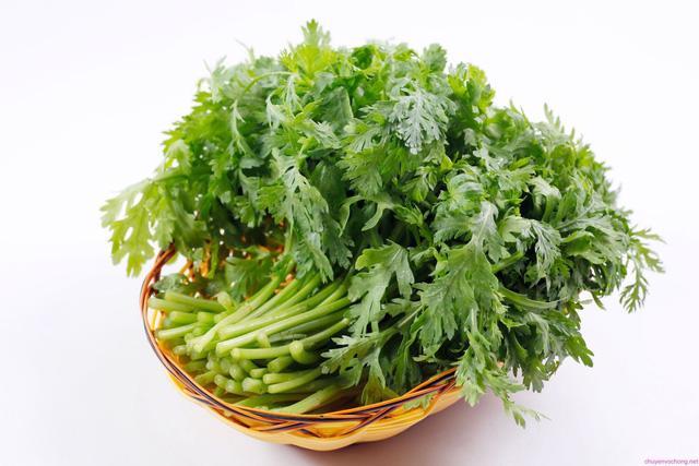 Công dụng chữa bệnh của rau cải cúc - Ảnh 1.