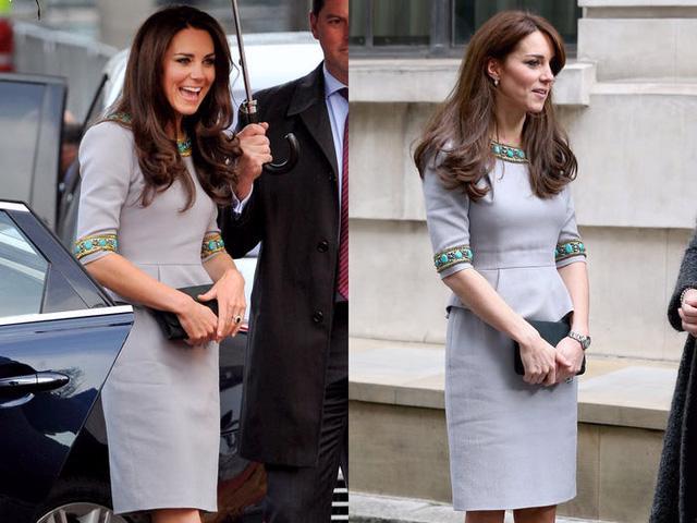 Những trang phục được Kate Middleton mặc lại nhiều lần - Ảnh 13.