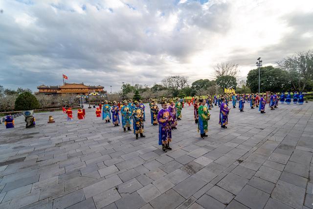 Ngày Xuân thưởng lãm Lễ Nguyên Đán thời Nguyễn mới được tái hiện - Ảnh 1.