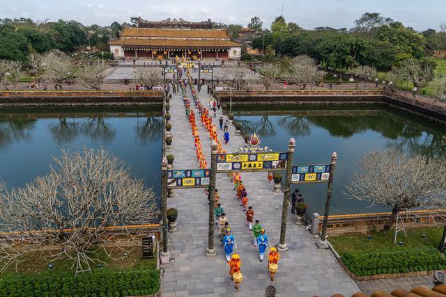 Ngày Xuân thưởng lãm Lễ Nguyên Đán thời Nguyễn mới được tái hiện - Ảnh 6.