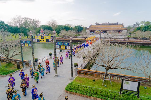 Ngày Xuân thưởng lãm Lễ Nguyên Đán thời Nguyễn mới được tái hiện - Ảnh 9.