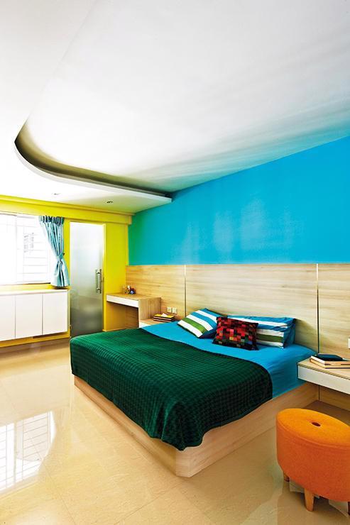 Căn hộ sắc màu với gạch mosaic trong nội thất - Ảnh 7.