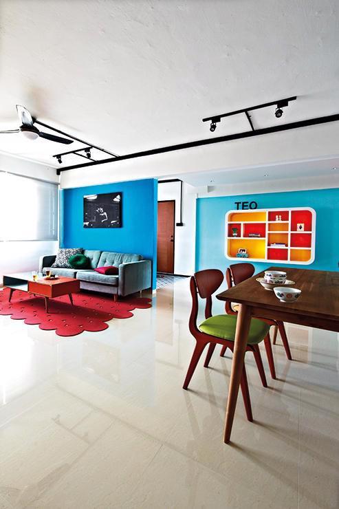Căn hộ sắc màu với gạch mosaic trong nội thất - Ảnh 5.