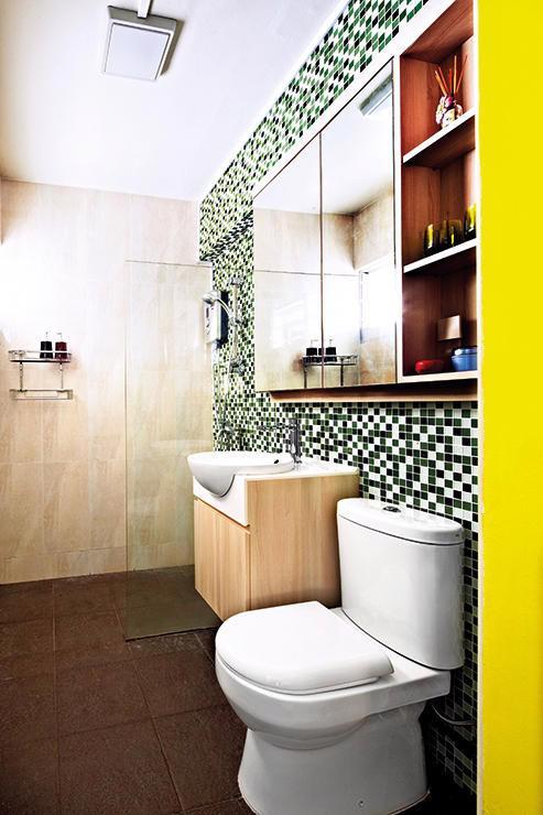 Căn hộ sắc màu với gạch mosaic trong nội thất - Ảnh 8.