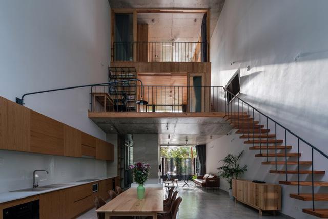 Ngôi nhà sáng sủa lấy gian bếp làm trung tâm ở Quy Nhơn - Ảnh 4.