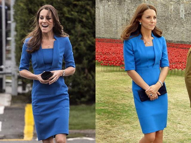 Những trang phục được Kate Middleton mặc lại nhiều lần - Ảnh 15.