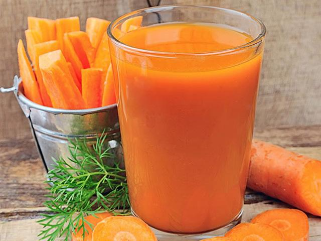 6 lợi ích của nước ép cà rốt - Ảnh 1.